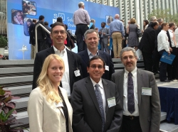 Top row: Howard Shatz and Jeffrey Hiday; Bottom row: Sarah Weilant, Krishna Kumar, and Peter Glick
