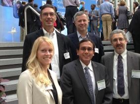 Top row: Howard Shatz and Jeffrey Hiday; Bottom row: Sarah Weilant, Krishna Kumar, and Peter Glick