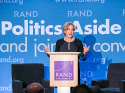 Judith Rodin at RAND's Politics Aside 2014