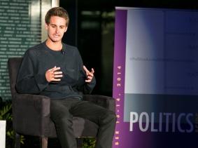 Evan Spiegel at RAND's Politics Aside 2014