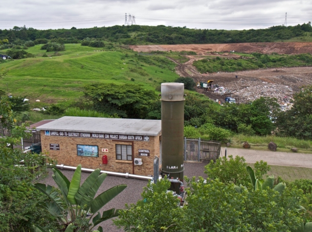 The Mariannhill landfill site in Durban, South Africa