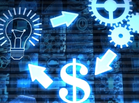 Illustration of idea, solution, and money, photo by alengo/iStock