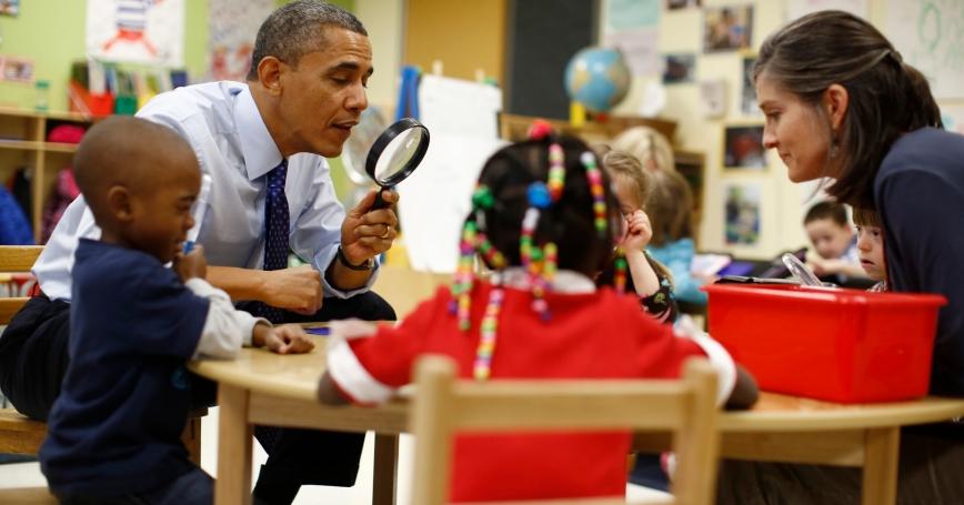 obama kindergarten essay