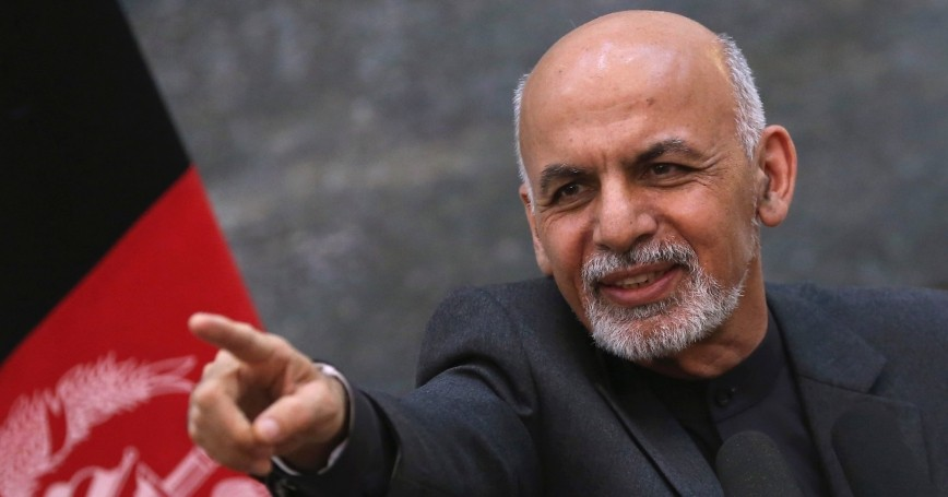 Afghanistan's President Ashraf Ghani during a news conference in Kabul, December 6, 2014