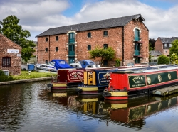Shardlow Wharf, Derbyshire, UK