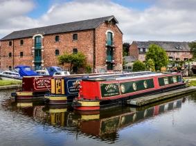 Shardlow Wharf, Derbyshire, UK