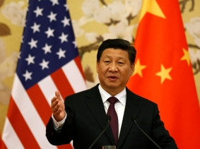 Chinese President Xi Jinping speaks during a news conference in Beijing, November 12, 2014