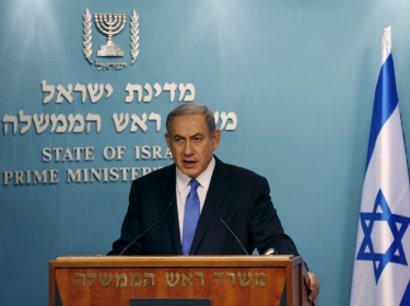 Israel's Prime Minister Benjamin Netanyahu said at a July 14, 2015 news conference that Israel would not be bound by the nuclear deal between world powers and Iran