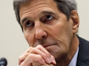 U.S. Secretary of State John Kerry testifies before a House Foreign Affairs Committee hearing on the Iran nuclear agreement in Washington, July 28, 2015