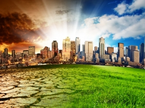 Global climate change visualization, photo by Kwest/Fotolia