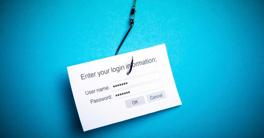 Malware phishing data concept