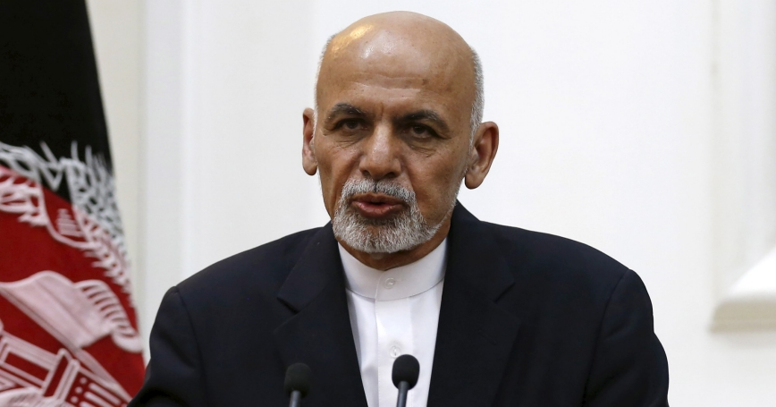 Afghanistan's President Ashraf Ghani speaks during a news conference in Kabul, September 29, 2015