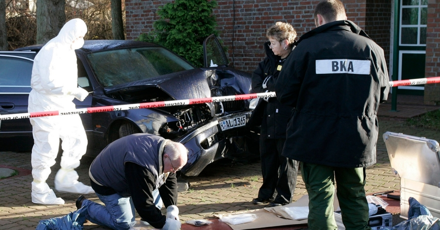 German police found traces of radiation in Hamburg locations linked to a Russian businessman who had met the murdered ex-spy Alexander Litvinenko on the day he fell ill