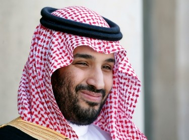 Saudi Arabia's Deputy Crown Prince Mohammed bin Salman arrives at the Elysee Palace in Paris, France, June 24, 2015