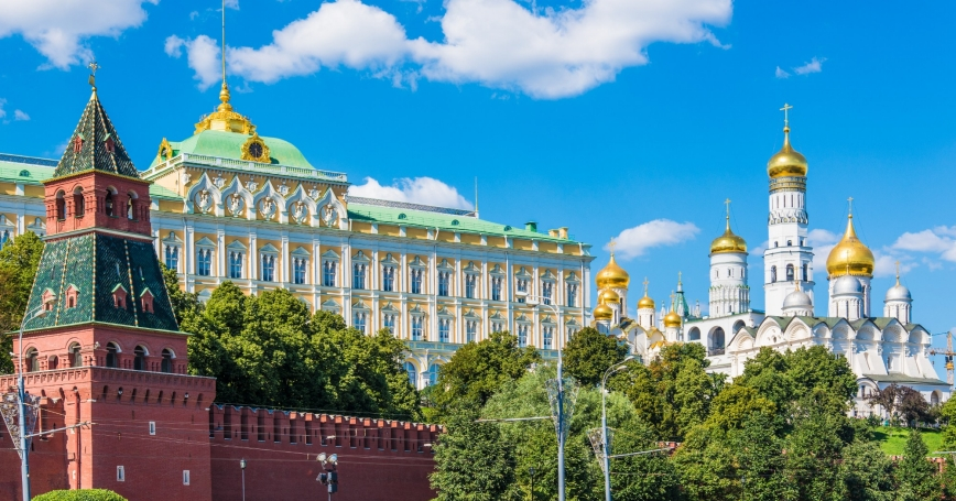 The Moscow Kremlin, Russia