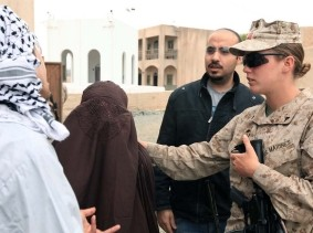 Advisor Training Cell prepares female engagement team for Marine Expeditionary Unit employment, at Camp Pendleton, California
