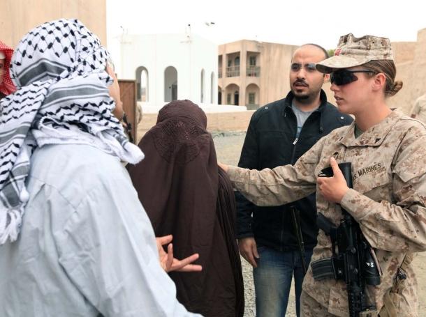 Advisor Training Cell prepares female engagement team for Marine Expeditionary Unit employment, at Camp Pendleton, California