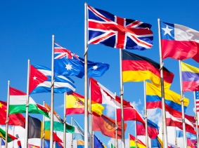 International flags, photo by TommL/iStock