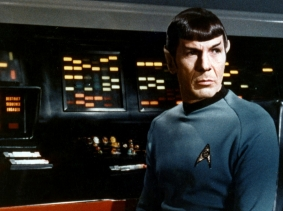 Leonard Nimoy as Mr. Spock