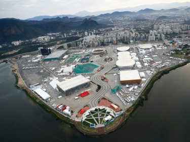 The Olympic park in Rio de Janeiro, Brazil, August 2, 2016