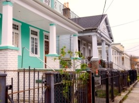 Houses in New Orleans, Louisiana