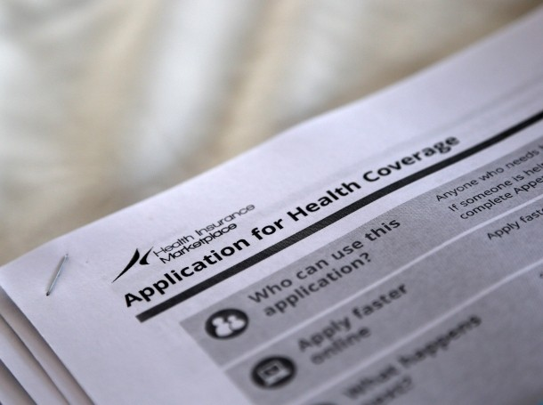 The federal government forms for applying for health coverage under the Affordable Care Act