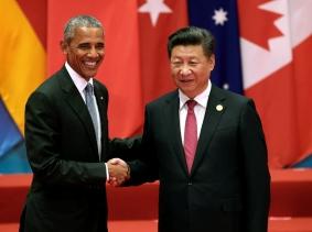 U.S. President Barack Obama and Chinese President Xi Jinping at the G20 Summit in Hangzhou, Zhejiang province, China, September 4, 2016