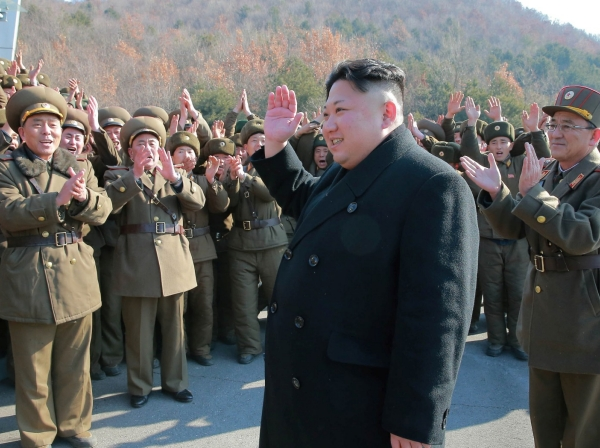 North Korean leader Kim Jong Un supervised a ballistic rocket launching drill of Hwasong artillery units of the Strategic Force of the KPA