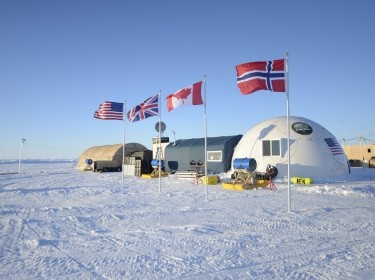 Ice Camp Sargo in the Arctic Circle was the main stage for ICEX 2016, an exercise designed to research, test, and evaluate operational capabilities in the region