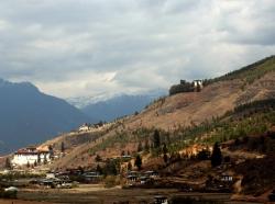 Landscape in Bhutan