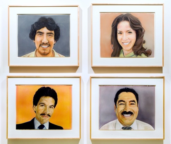 Portraits of Victor Clothing Company Employees (c. 1979-1981) by John Valadez