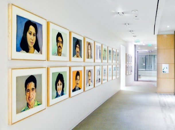 Portraits of Victor Clothing Company Employees (c. 1979-1981) by John Valadez