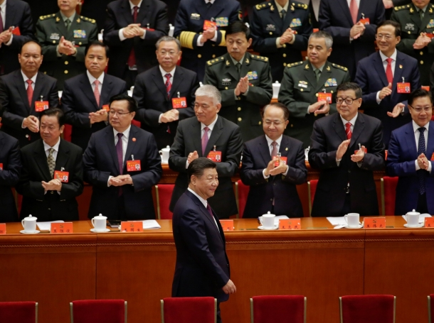 Chinese President Xi Jinping arrives for the opening of the 19th National Congress of the Communist Party of China at the Great Hall of the People in Beijing, China, October 18, 2017