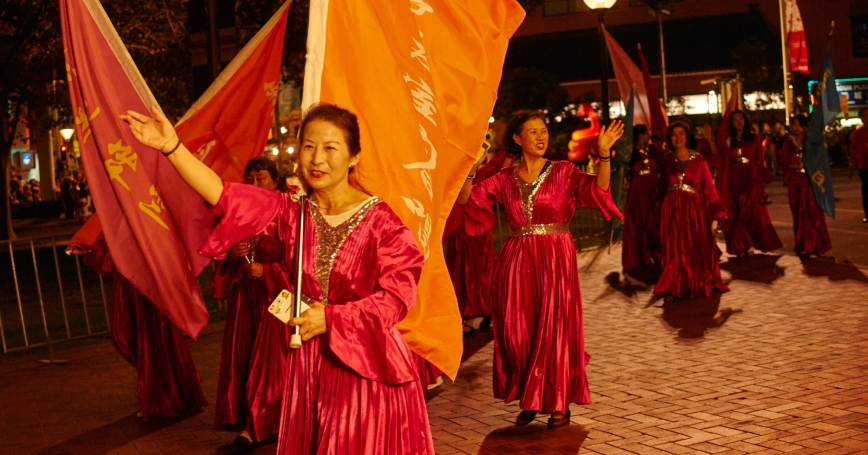 Chinese New Year parade in Australia