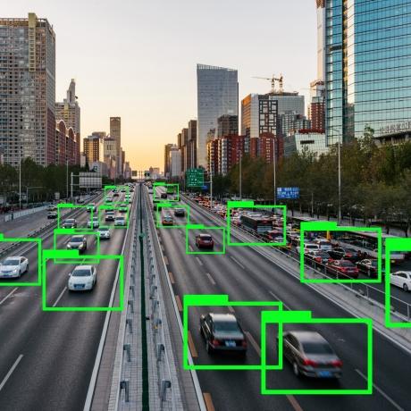 Autonomous vehicles on a highway