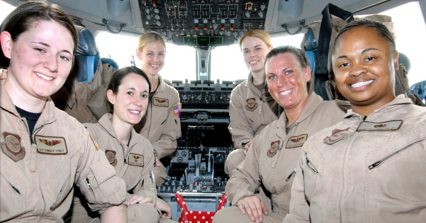 The U S  Air Force Is Working Harder to Retain Female Officers, and