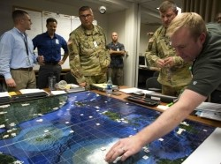 Naval Postgraduate School students participate in analytic wargames they designed to explore solutions for some of DoD's most pressing national security concerns