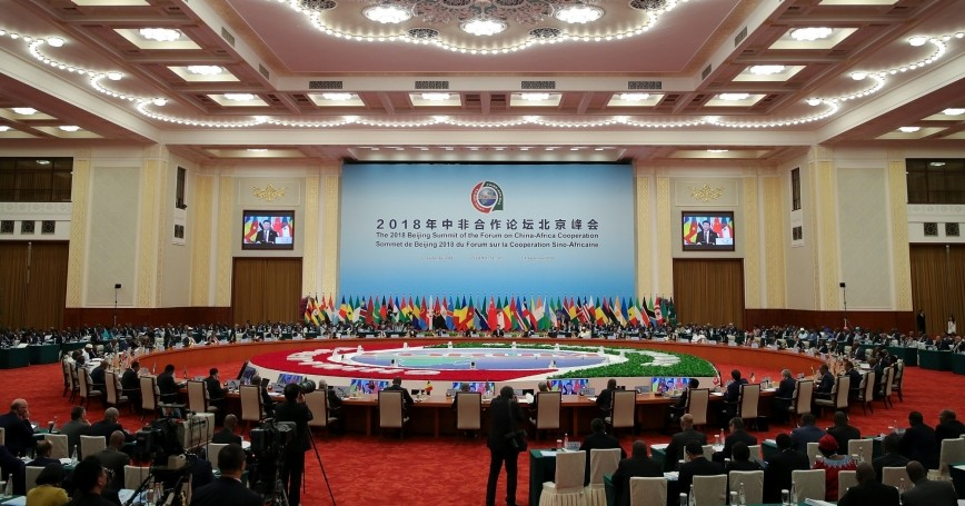 Chinese President Xi Jinping speaks during the 2018 Beijing Summit of the Forum on China-Africa Cooperation at the Great Hall of the People in Beijing, China, on September 4, 2018
