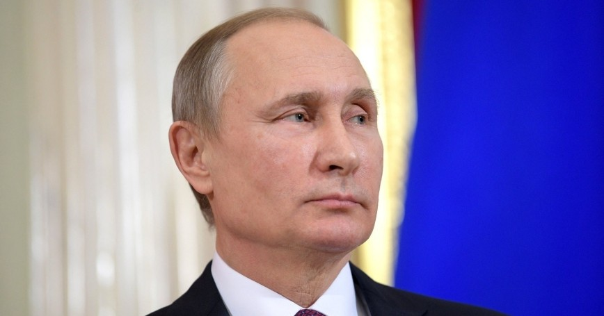 Russian President Vladimir Putin, photo by the Russian Presidential Press and Information Office