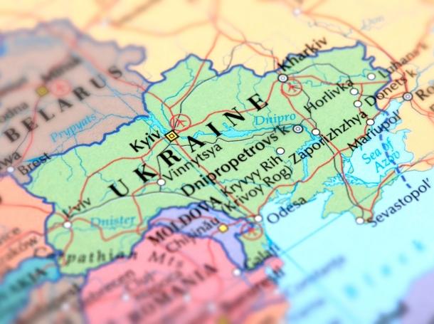 Map of Ukraine, photo by omersukrugoksu/Getty Images