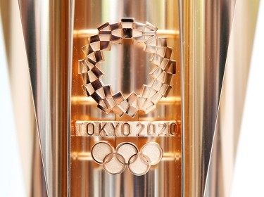 The Olympic torch of the Tokyo 2020 Olympic Games in Tokyo, Japan June 1, 2019, photo by Issei Kato/Reuters