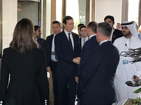 "White House senior adviser Jared Kushner arrives for the U.S.-hosted ""Peace to Prosperity"" conference, in Manama, Bahrain, June 25, 2019, photo by Matt Spetalnick/Reuters"