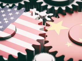 China and USA relations concept, photo by Rawf8/Getty Images
