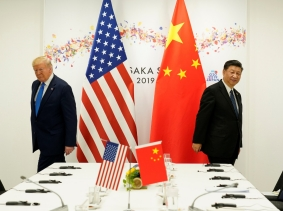 U.S. President Donald Trump attends a bilateral meeting with China's President Xi Jinping during the G20 leaders summit in Osaka, Japan, June 29, 2019, photo by Kevin Lamarque/Reuters