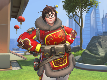 Mei-Ling Zhou, a character in the Blizzard-Activision game Overwatch, photo courtesy of Blizzard Entertainment. ®2016 Blizzard Entertainment, Inc. All rights reserved. Overwatch is a trademark or registered trademark of Blizzard Entertainment, Inc. in the U.S. and/or other countries