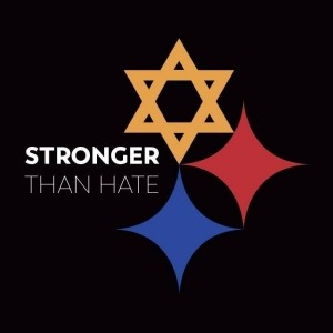 Stronger Than Hate logo, image by Tim Hindes