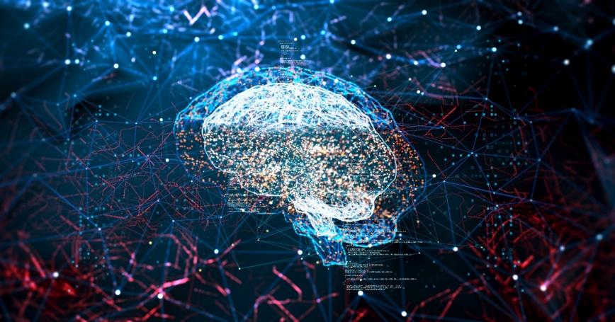 Digital concept of a brain, photo by Vertigo3d/Getty Images