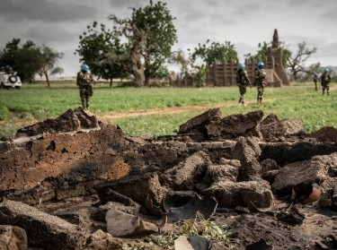 "Senegalese peacekeepers during a military operation in the Mopti region of Mali, July 5, 2019, <a href=""https://www.flickr.com/photos/minusma/48289319002/in/photostream/"">photo</a> by Gema Cortes/MINUSMA / <a href=""https://creativecommons.org/licenses/by-nc-sa/2.0/"">CC BY-NC-SA 2.0</a>"