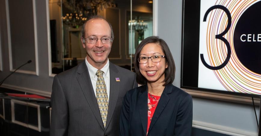 Bradley Stein and Karen Chan Osilla, photo by Craig Sherod Photography