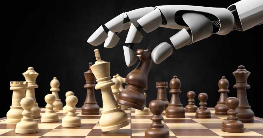 AI playing chess, Photo by Fotomek/Getty Images